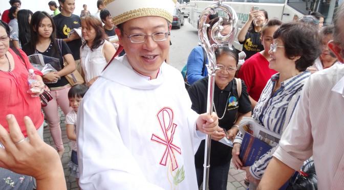 Richard Ng ordained Bishop of Miri