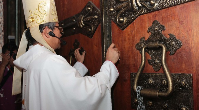 Holy Door of Sacred Heart Cathedral opens