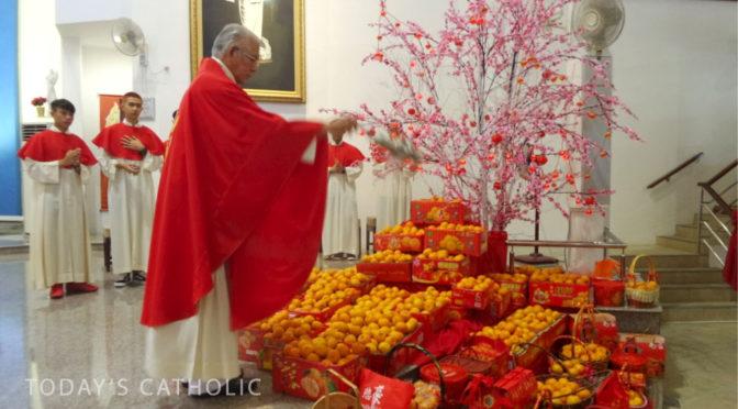 天主教圣体堂农历新年感恩圣祭