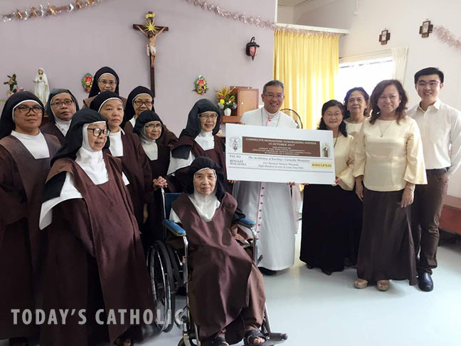 Fundraising dinner for rebuilding of Carmelite Monastery a success